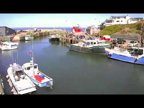 Bay of Fundy Tides - Halls Harbour Timelapse