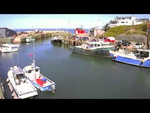 Bay Of Fundy Tides - Halls Harbour Timelapse