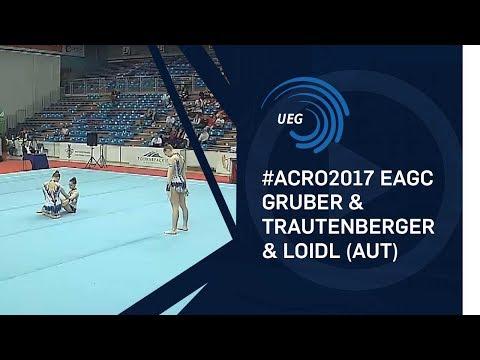 Women's group Austria - 2017 Acro Europeans, all-around final