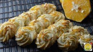 Orange Tea Biscuits  - By Vahchef @ Vahrehvah.com