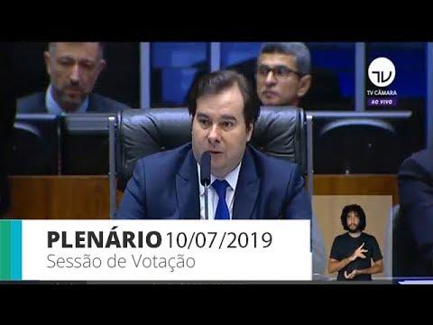 Plenário - Votação da reforma da Previdência - 10/07/2019 - 09:00