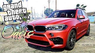 BMW X6M В GTA 5 OASIS Fivem Реальная Жизнь ТОП Сервер