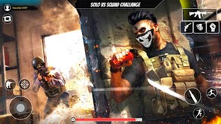 Solo vs Squad Rush Team Free Fire Battle 2021 - Android GamePlay
