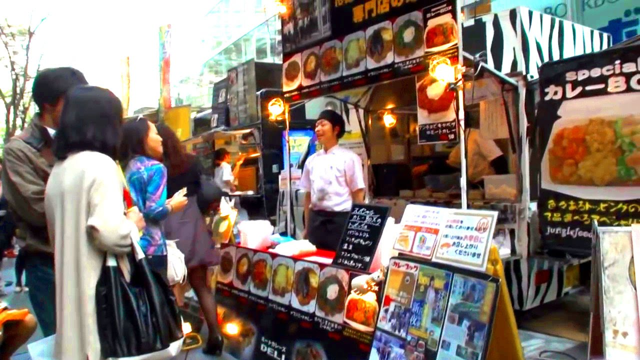 Japanese Street Food  Ef Bc D Lunch Truck Sells The World Delicious Dish You
