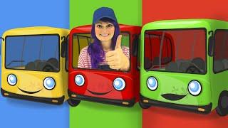 Las Ruedas Del Autobús de Navidad | Canciones Infantiles | Lily Fresh Español