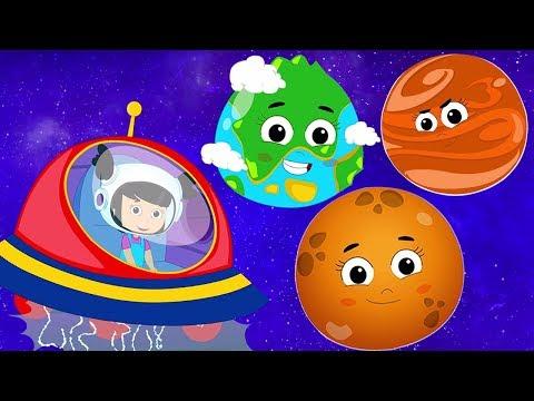Planeten lied | Sonnensystem Lied | Reime auf Deutsch | Kinderlieder | Planets Song | Solar System