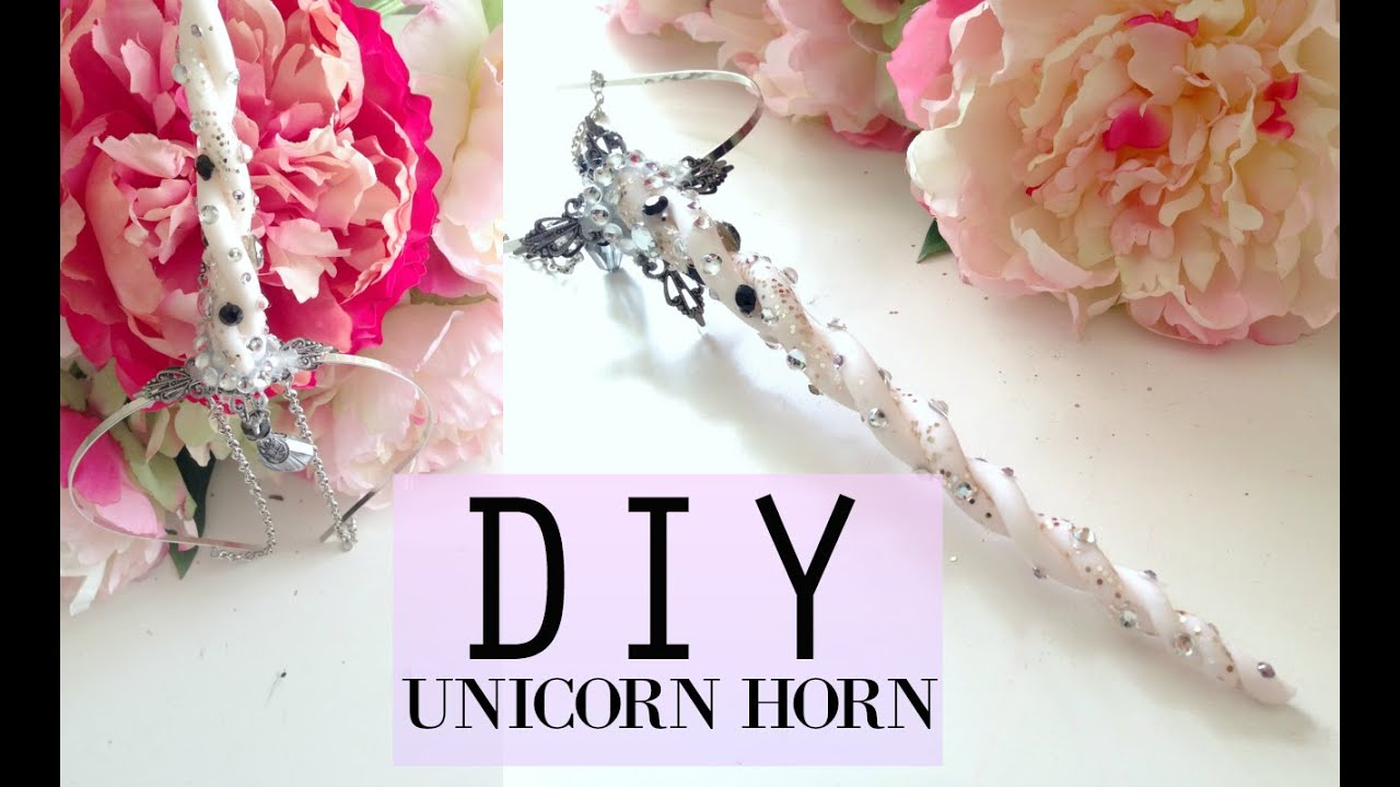 Easy Diy Unicorn Horn Headpiece Tutorial Pinterest Inspired