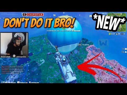 Daequan Explains Why You Shouldn't Thank The Bus Driver... (Fortnite Stream Highlights)