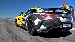 Mercedes-AMG GT R - 1/2 Mile Accelerations!