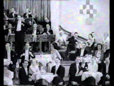 Cicely Courtneidge performs an Apache Dance 1933