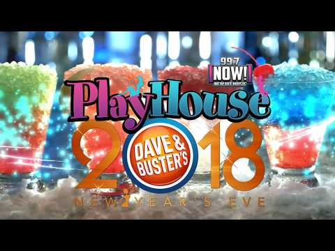 997Now's New Year's Eve 2018 w/St. John @ Dave & Buster's- San Francisco Peninsula