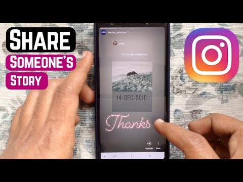 How to post someone elses picture on your instagram story