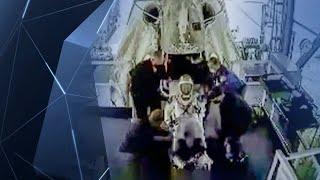 Un test final réussi pour la capsule spatiale de SpaceX