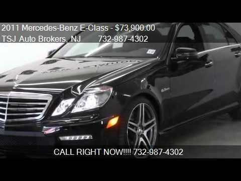 2011 mercedes benz e class e63 amg for sale in lakewood n youtube. Black Bedroom Furniture Sets. Home Design Ideas