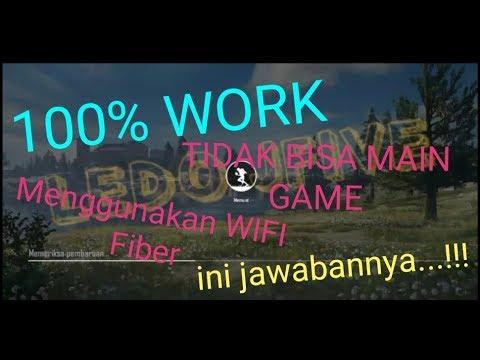 MENGATASI WIFI INDIHOME FIBER!!! TIDAK BISA BERMAIN GAME ONLINE ...