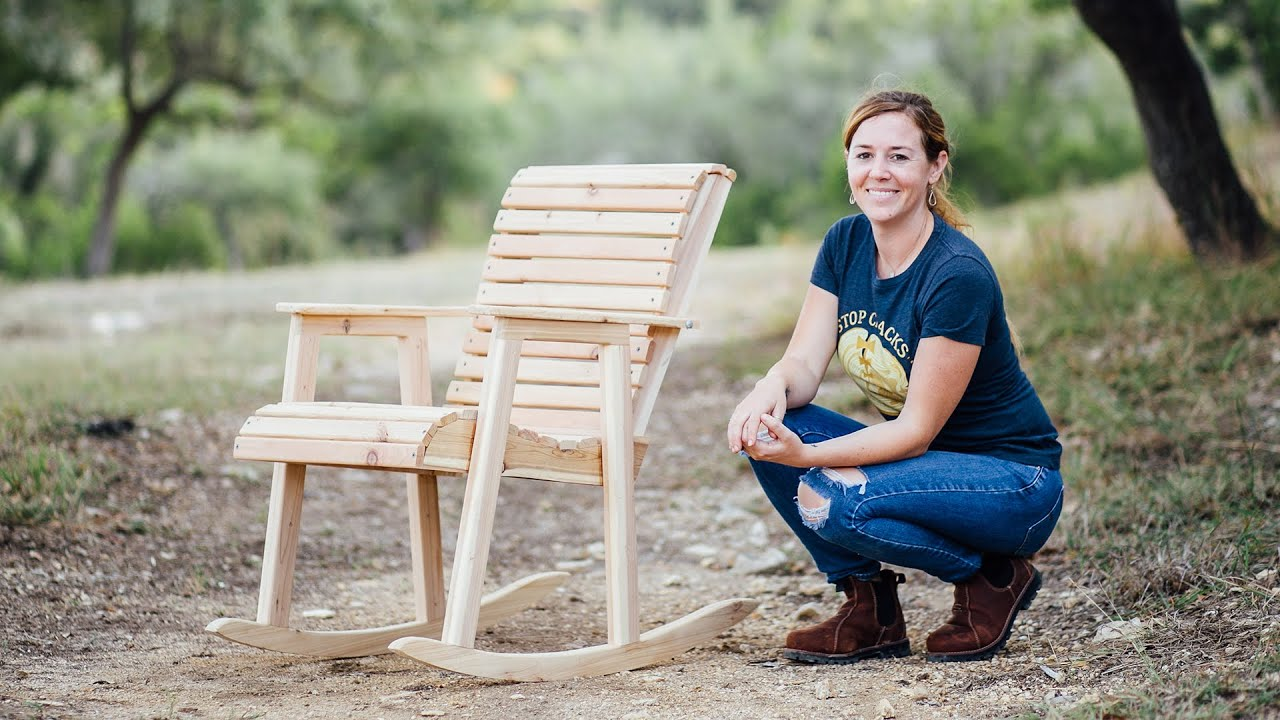 Build A Rocking Chair You, Deck Rocking Chair Plans