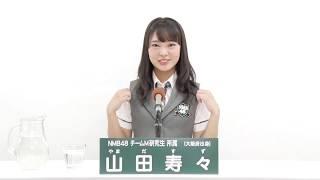 AKB48 49thシングル 選抜総選挙 アピールコメント NMB48 チームM 研究生...