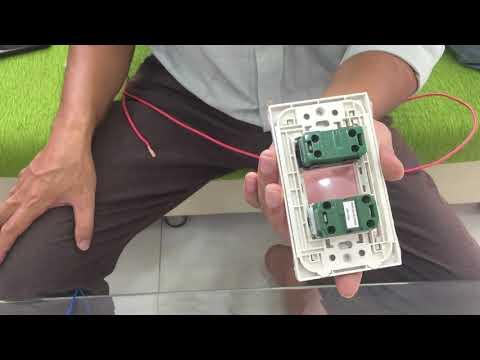 Cách đấu Bảng điện 1CB, 1 Công Tắc, 1 ổ Cắm, 1 Bóng đèn Nhanh Và Hiệu Quả Nhất.