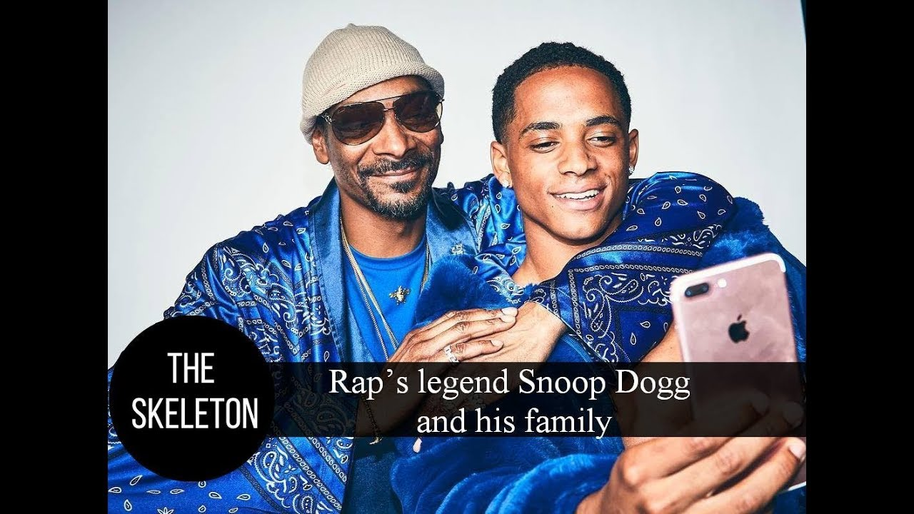 Rap's legend Snoop Dogg and his family