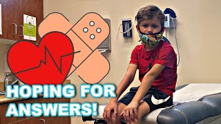 TODDLER GOING TO DOCTOR FOR ANSWERS   FAMILY VLOG