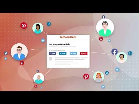 Easy Advocacy - Free Employee Advocacy Tool