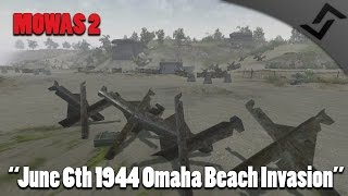 Men of War: Assault Squad 2 - 6th of June 1944 - Normandy Landings - Omaha Beach Gameplay