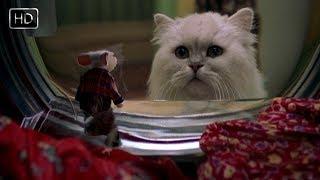 Снежок, как я рад что ты тут! Представляешь, я угодил в стиральную машину! Стюарт Литтл. 1999