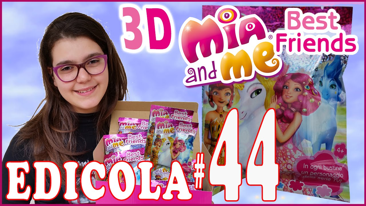EDICOLA #44: Mia And Me Best Friends Miniature 3D (12