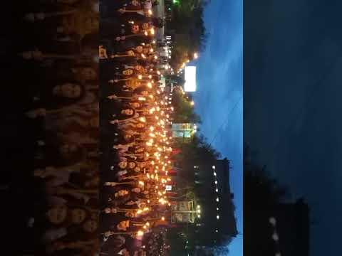 Ереван факельное шествие!!