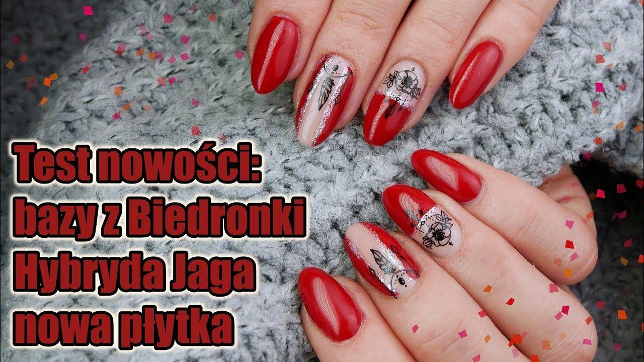 Recenzja Bazy Niuqi I Hybrydy Jaga Czerwone Paznokcie Youtube