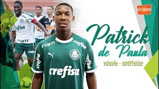 ⚽ PATRICK DE PAULA / VOLANTE / Patrick de Paula Carreiro