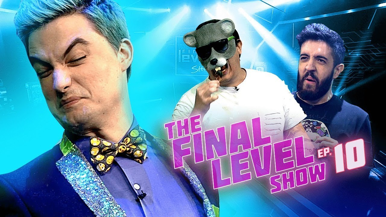 RATO BORRACHUDO X PATIFE - FELIPE NETO EM THE FINAL LEVEL SHOW EP.10