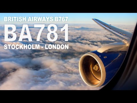 TRIP REPORT | British Airways Club Europe (Business) | Boeing 767-300 | Arlanda - Heathrow | BA781