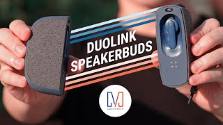 Duolink SpeakerBuds: Speakers + Buds in One!