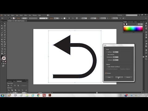 Вопрос: Как создать стрелку в Adobe Illustrator?