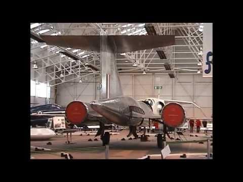 British Supersonic Fast Jets - Lightning, TSR-2, Bristol 188, Fairey Delta . . .