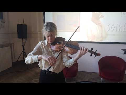 Marina Chiche plays Bach Chaconne
