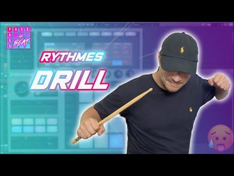 Apprendre à faire une rythmiques DRILL !