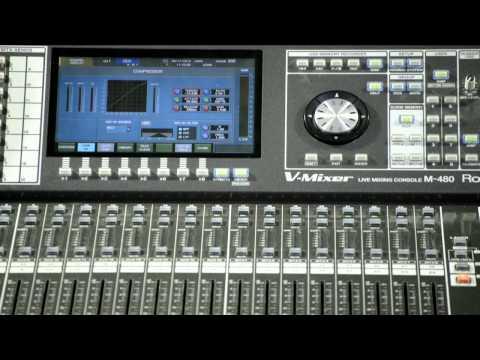 Video Hướng Dẫn Sử Dụng  Mixer Roland M 480
