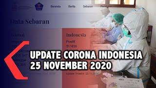 Update Corona 25 November: 511.836 Positif, 429.807 Sembuh, 16.225 Meninggal Dunia