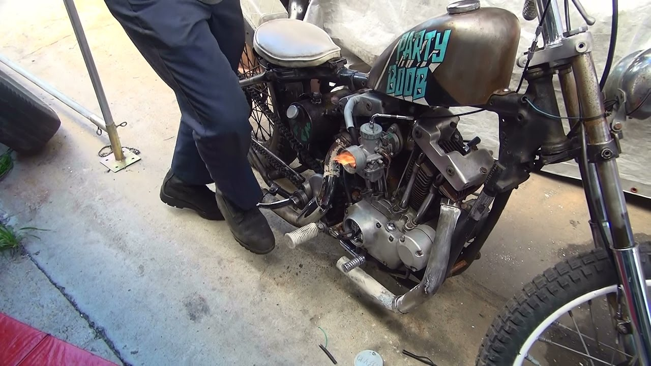 1972 Ironhead 102 Ultima Ignition Install Xl Dyna 2000i Harley Sportster Wiring Diagram Schematic By Tatro Machine