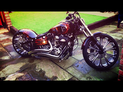 best custom of harley davidson breakout softail fxsb youtube. Black Bedroom Furniture Sets. Home Design Ideas