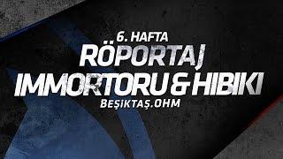 Beşiktaş.OHM – Hwa Gaming maçının ardından kazanan takımın orta kor...