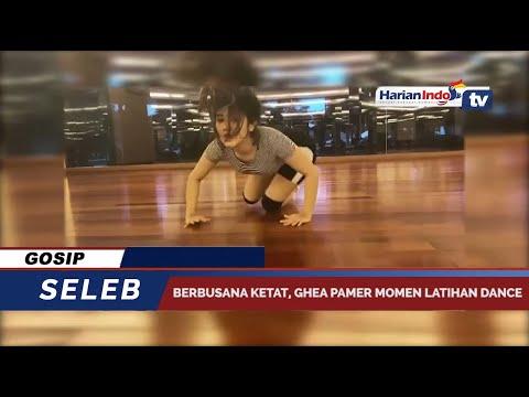 Berbusana Ketat, Ghea Youbi Pamer Momen Latihan Dance