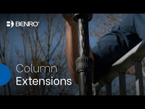 Benro Column Extensions | Carbon Fiber Extensions to Expand the Versatility of your Tripods