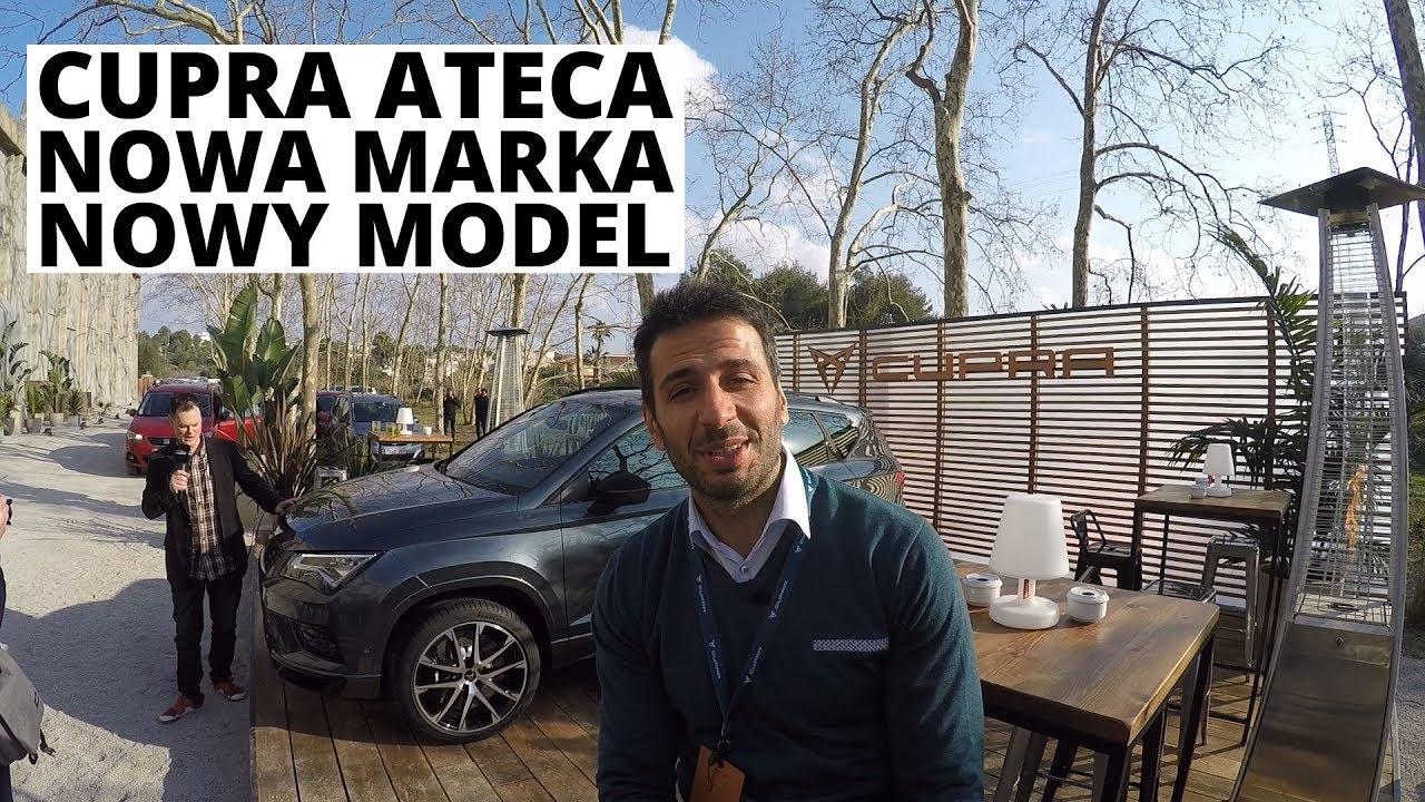 CUPRA ATECA – nowa marka SEATa od razu prezentuje pierwszy model