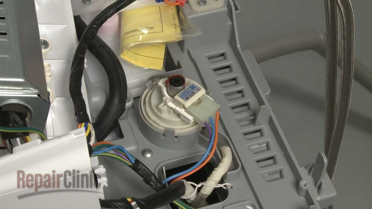 washing machine pressure switch wiring diagram [ 1280 x 720 Pixel ]