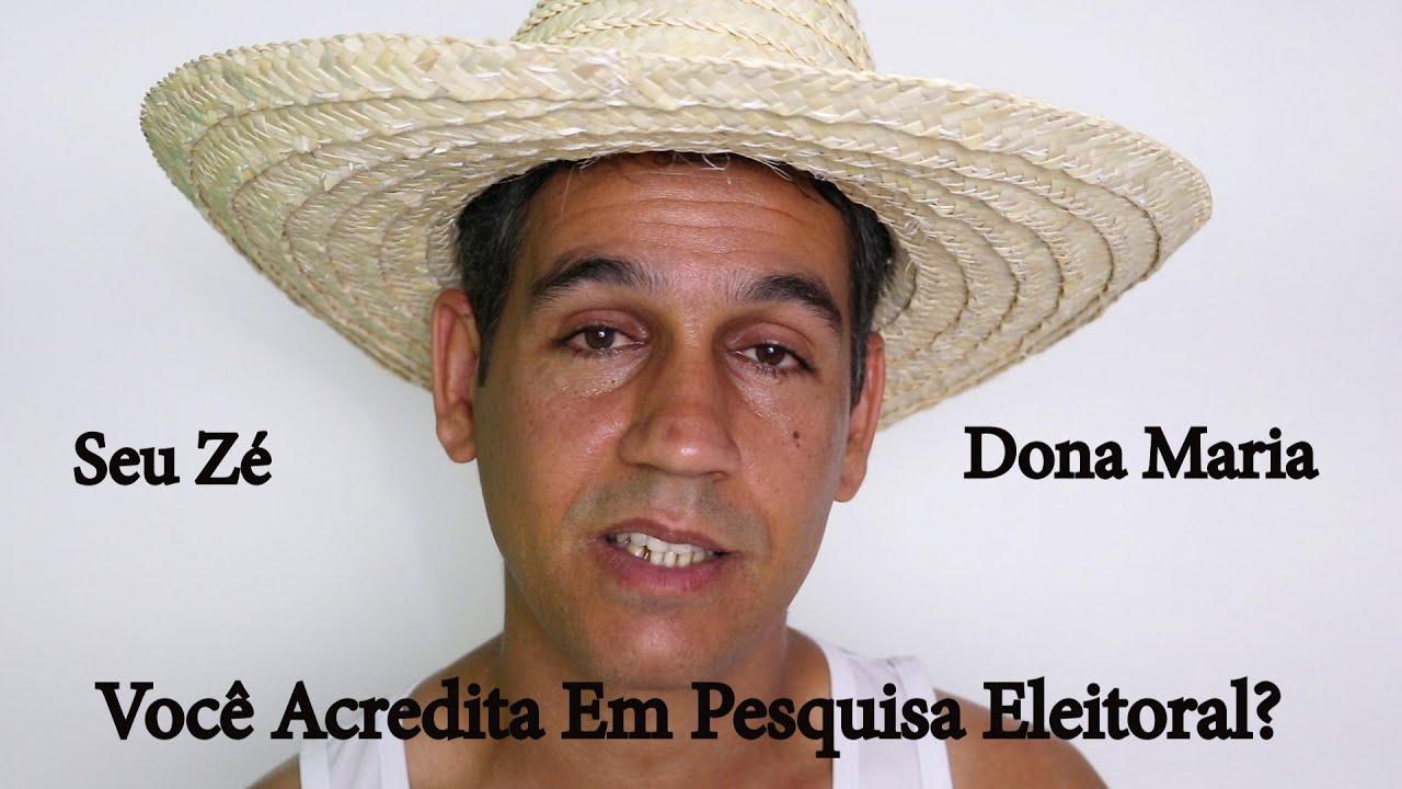 Você Acredita Em Pesquisa Eleitoral? - Seu Zé E Dona Maria - YouTube