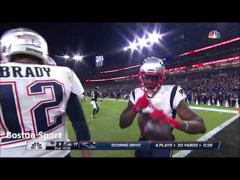 Tom Brady - All Completed Passes - NFL 2019 Week 9 - New England Patriots vs Baltimore Ravens