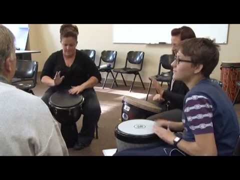 Drum Circle Therapy Helps Troubled Teens